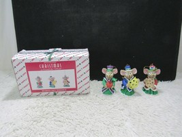 House Of Lloyd Christmas Around The World, 1996 Bearing Gift WiseMice Or... - $12.95