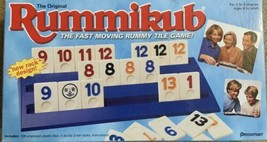 Pressman Rummikub Rummy Tile Game Vintage 1997 Complete VG Condition - $17.33
