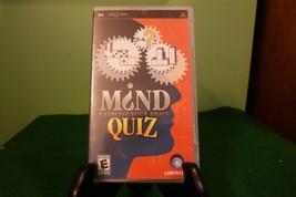 Mind Quiz (Sony PSP, 2006) NM W/Manual - $9.89