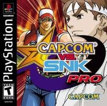 Capcom Vs. SNK Pro PS1 Great Condition Fast Shipping - $35.94