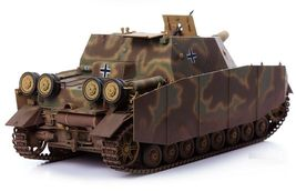 Academy 13525 German Strumpanzer 4 Brummbar Midterm Version Tank Plastic Model image 7