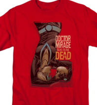 Doctor Mirage Talks to the Dead T Shirt Valiant Comics graphic tee red VAL197 image 2