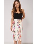 Flower Print Scuba Skirt Sizes 10, 12, 14, 18, 20 Brand NEW - $18.15