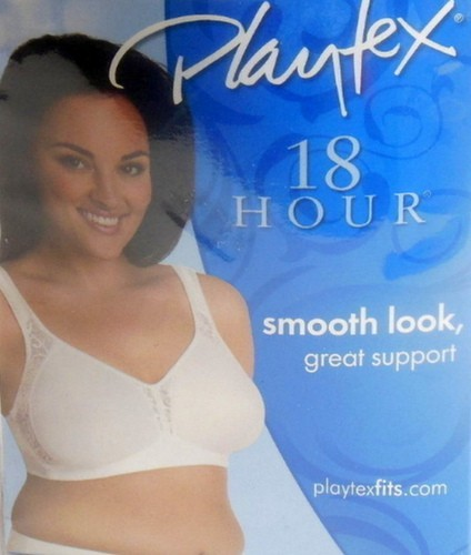 917ac60f8694a Playtex 18 Hour Wire Free Bra 44D In White and 45 similar items. Screen  captures52 002