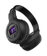 ZEALOT Foldable Stereo Wireless Bluetooth Headphone With LCD Screen FM T... - $19.99