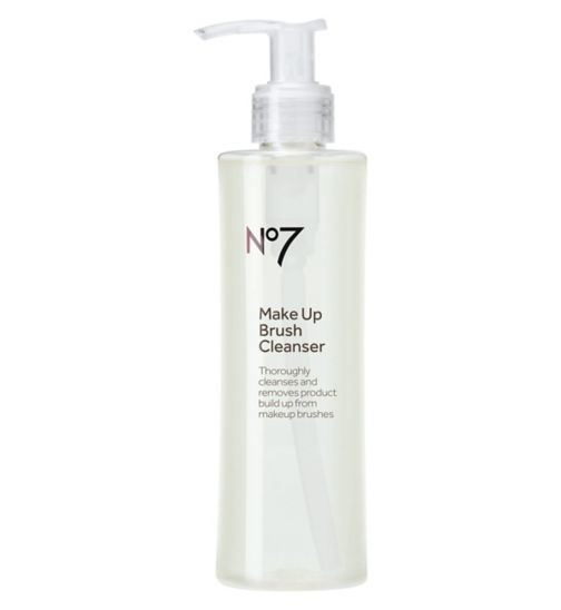 No7 make-up brush cleanser 200ml