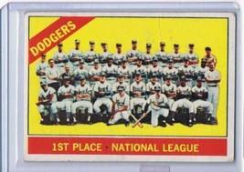 1966 Topps #238 Dodgers Team Dodgers  - $9.11