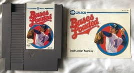☆ Bases Loaded Baseball (Nintendo 1988) AUTHENTIC NES Game Cart & Manual... - $6.00