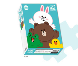 LINE Friends BROWN's Friends Jigsaw Puzzle 150 pcs Character CONY SALLY ... - €16,46 EUR