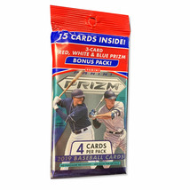 2019 Panini Prizm Baseball Fat Pack- New Opti-Chromes  Autos, Rookies, and - $16.47
