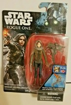 New! Star Wars Rogue One - Sergeant Jyn Erso (JEDHA)Action Figure Free S... - $5.81