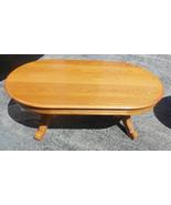 Oval Oak Coffee Table by Broyhill - $599.00
