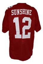 Sunshine Bass Remember The Titans Movie New Men Football Jersey Maroon Any Size image 5