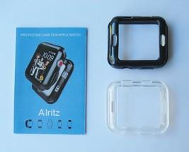 Apple Watch 3 Case 42mm Soft Slim TPU Protective Cover Flexible Anti-Scr... - $8.86