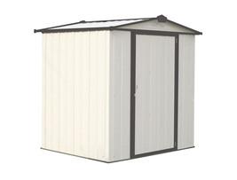 Arrow 6x5 Ezee Storage Shed KIt - Cream & Charcoal (EZ6565LVCRCC) - $329.95