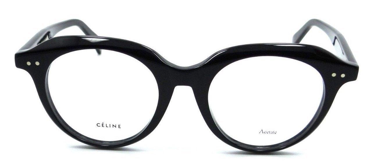 Celine Rx Eyeglasses Frames CL 41461/F 807 47-19-145 Black Italy Asian Fit