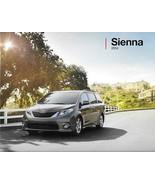 2014 Toyota SIENNA sales brochure catalog 14 US SE XLE Limited - $6.00