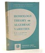Homology theory on algebraic varieties (International series of monograp... - $14.65
