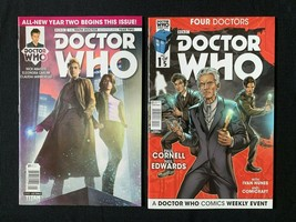 Lot of Two Doctor Who Comics The Four Doctors and Tenth Doctor Year Two - $9.95