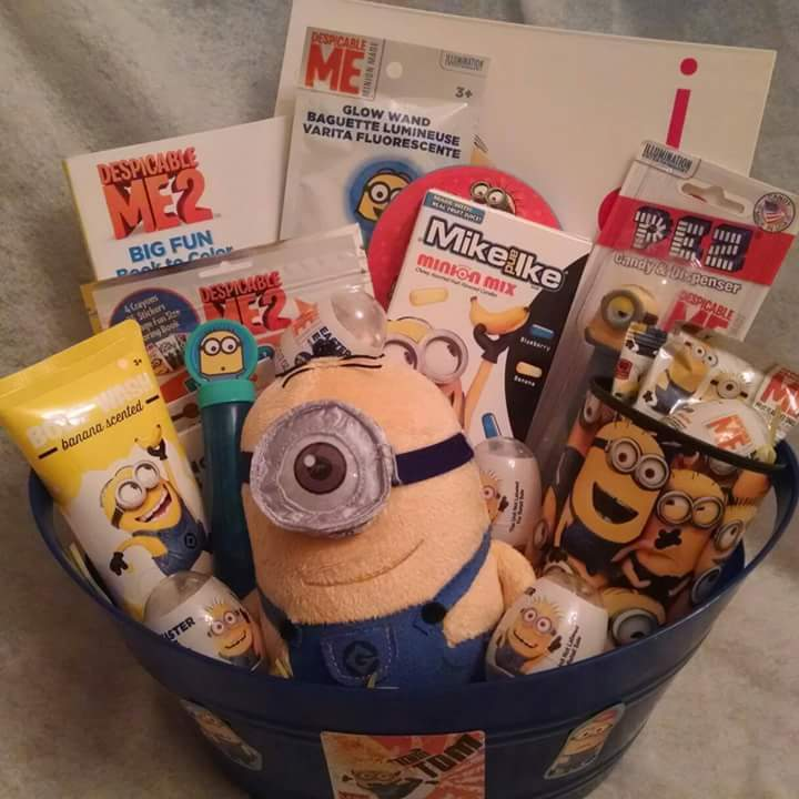 Minion Gift Basket