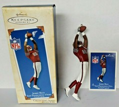 2003 Hallmark Keepsake Ornament Jerry Rice Football San Francisco 49ers ... - $18.99