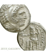 ALEXANDER THE GREAT Amphipolis, Macedon. Ancient Greek Silver Tetradrach... - $404.10