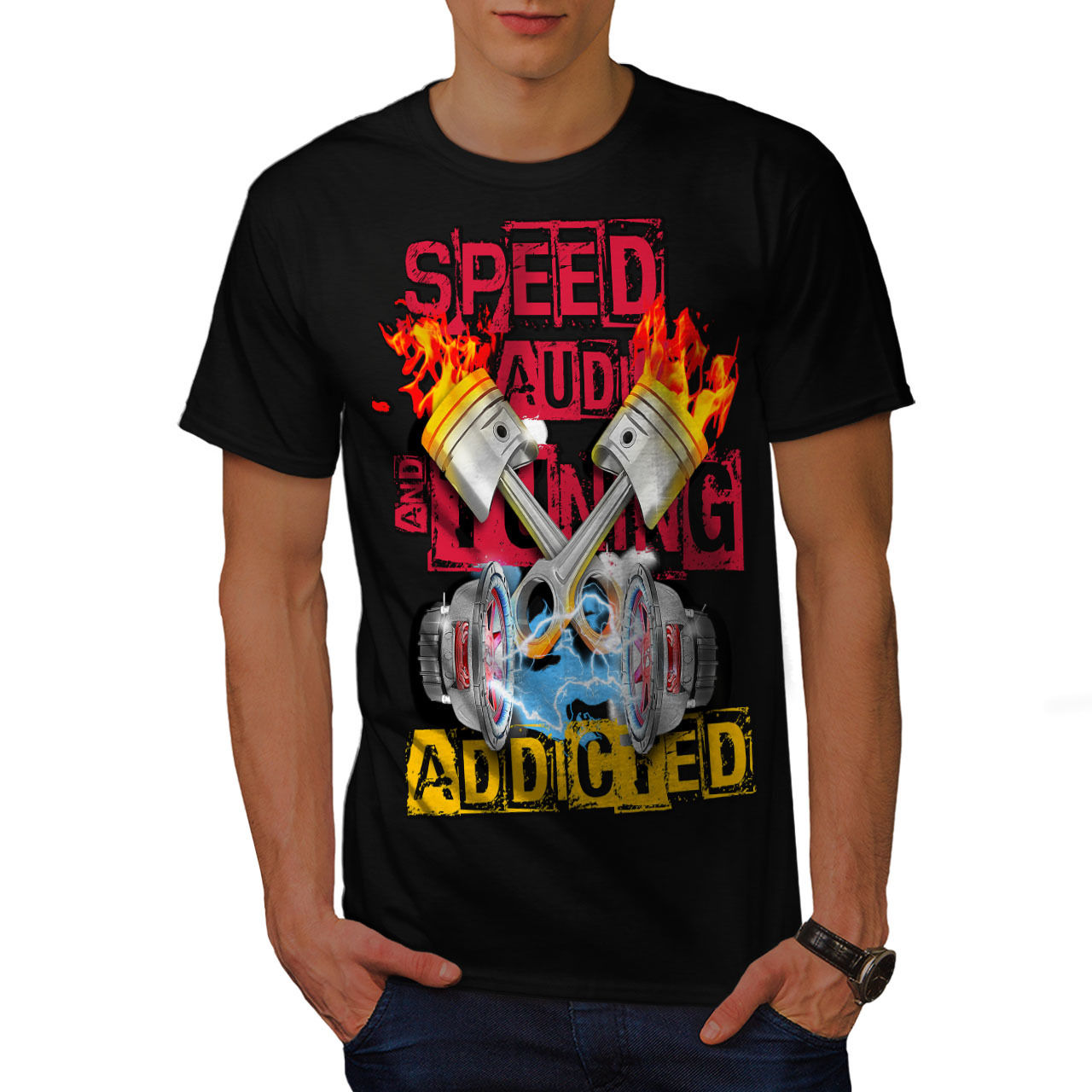 554c41cae7e Speed Addicted Fashion Shirt Men T-shirt and 50 similar items.  D2818xmxrxbxmain
