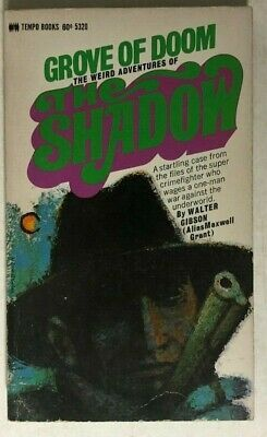 Primary image for THE SHADOW Grove of Doom by Maxwell Grant aka Walter Gibson (1969) Tempo pb 1st