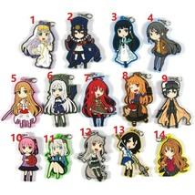 Shogugan no Shana Alicization Kino's Journey Rubber Strap Keychain Keyri... - $6.98