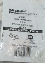 Nibco Press System PC603 Female Adapter 1 and Half Inch 9025900PC image 2