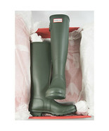 Hunter Boot Company Green Tall Matte Original Rainboots 7 NIB - $123.26