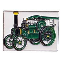 Traction Retro Steam Engine  Lapel Pin Badge Lapel /tie Pin Badge  with clip