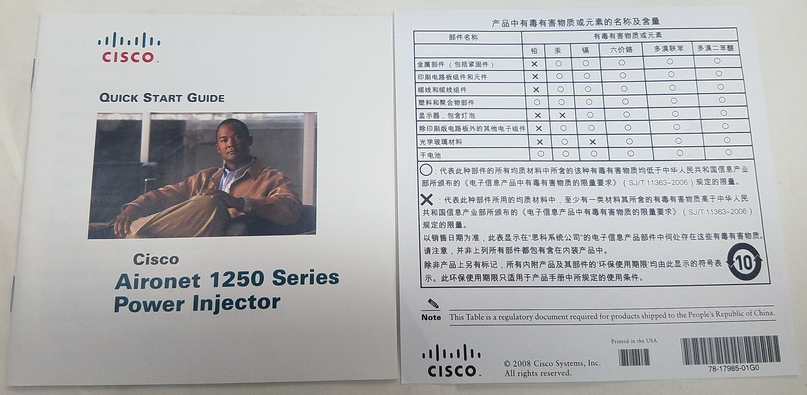 (Lot of 3) Cisco POE Injector AIR-PWRINJ4 (NEW)