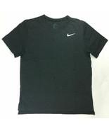 Nike Hyper Dry Short Sleeve Training Practice Dri-FIT Top Men's L Black ... - $29.70