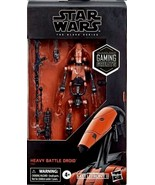 Star Wars Gaming Greats Black Series Heavy Battle Droid Battlefront II e... - $35.95