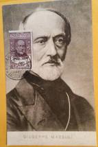 Vintage Giuseppe Mazzini photo postcard. RARE - $895.00