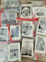 Lot of 100 Original Random B&W Found Old Photos & Vintage Snapshots - $19.55
