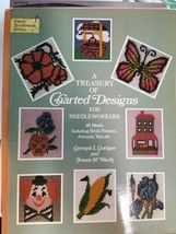 Counted Cross Stitch Book with 141 Motifs with birds, flowers, animals &... - $3.00