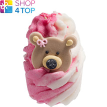 TEDDY BEAR PICNIC BATH MALLOW BOMB COSMETICS STRAWBERRY HANDMADE NATURAL... - $4.05