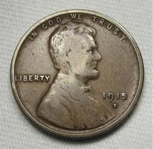 1915-S Lincoln Wheat Cent VG Coin AE462 - $17.35