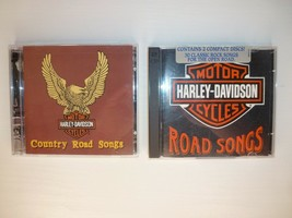 2 Harley Davidson Road Songs Double CD Sets 1996 Country Road Songs & 19... - $16.95