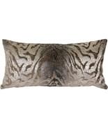 Pillow Decor - Ruffino Mocha Chenille Throw Pillow 12x24 - $75.00