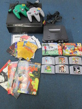 Nintendo 64 N64 game console bundle 2 controllers Super Mario Mario cart... - $346.49
