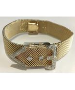 14k White Gold Vintage Ladies Diamond Wristwatch Swiss Circa 1950 - $1,995.00