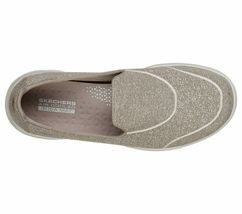 Skechers Shoes Taupe Go Walk Women Super Suck Soft Casual Slip On Comfort 15732 image 5