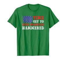 Brother Shirts - Time To Get Star Spangled Hammered T-Shirt Fourth of July Men image 4