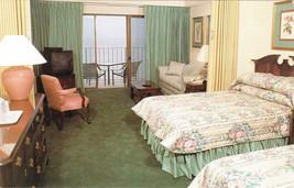 Vintage Quality Inn Boardwalk Hotel Postcard Ocean City Maryland Unused - $2.00
