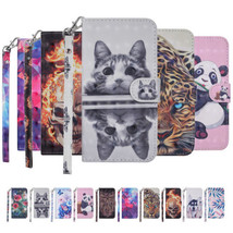 PU Leather Hand Strap Magnetic Case & Stand Cover for Samsung J3 J5 J7 2017 - $3.93