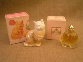 1970's Avon Women's Occur! Cologne 2 New in Box Figural Bottles 2.5 Ozs ... - $16.82