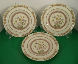Copeland Spode BUTTERCUP Luncheon Plate (s) LOT OF 3 England Older Backs... - $34.60